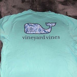 Vineyard t-shirt (turquoise) Large. Good condition